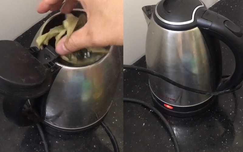 Cách hãm lá chuối khô