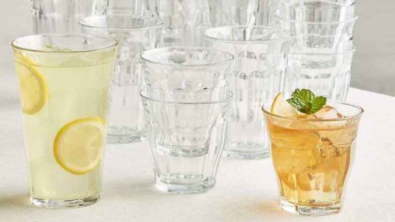 Sử dụng cốc và ly dài