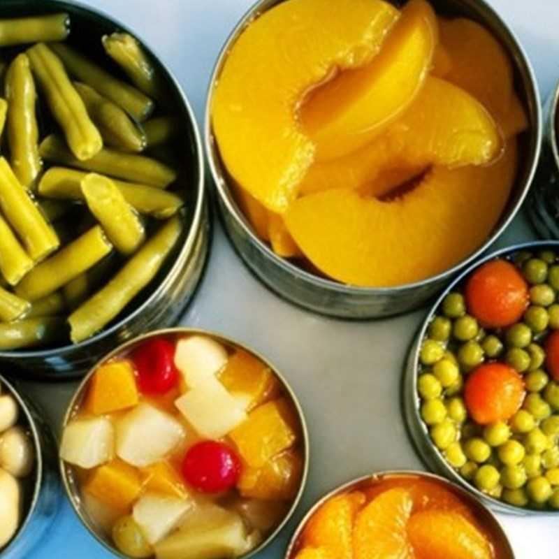 Những điều cần biết về trái cây và rau đóng hộp