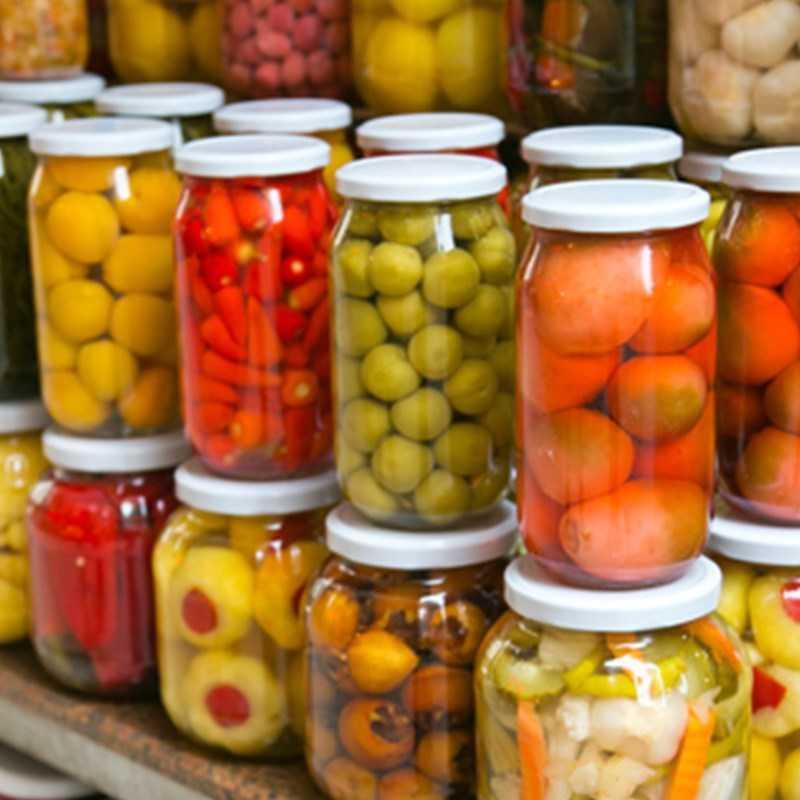 Thông tin dinh dưỡng của trái cây và rau đóng hộp