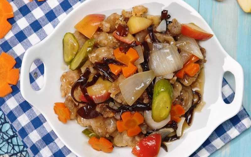 Thịt giòn Tangsuyk