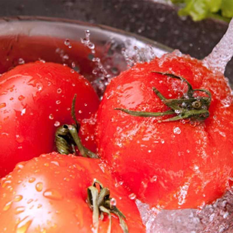 Bước 1 Chuẩn bị cà chua Sốt cà chua