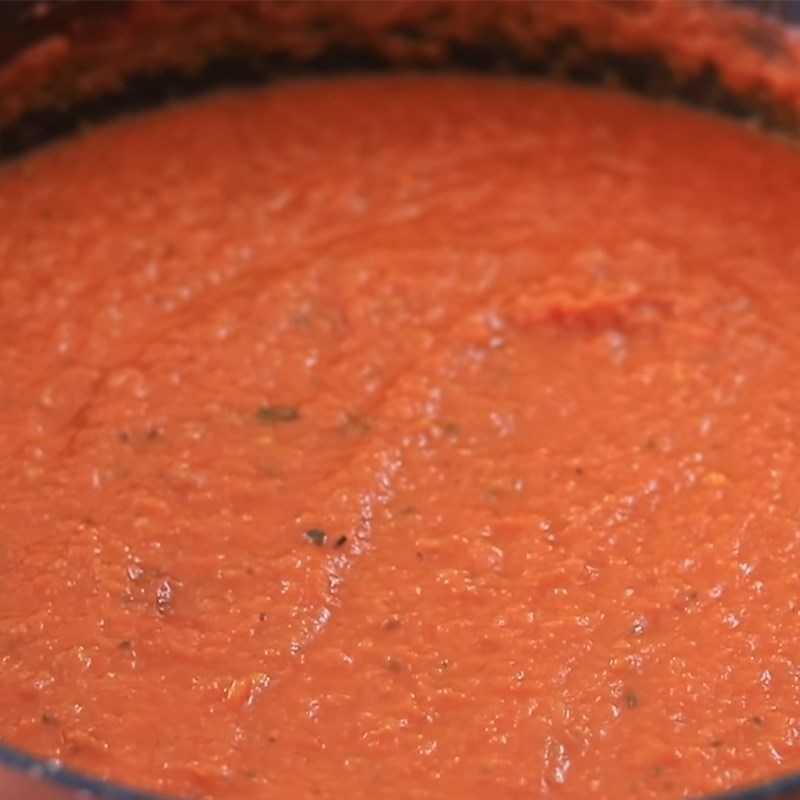 Bước 3 Làm nước sốt cà chua Ketchup