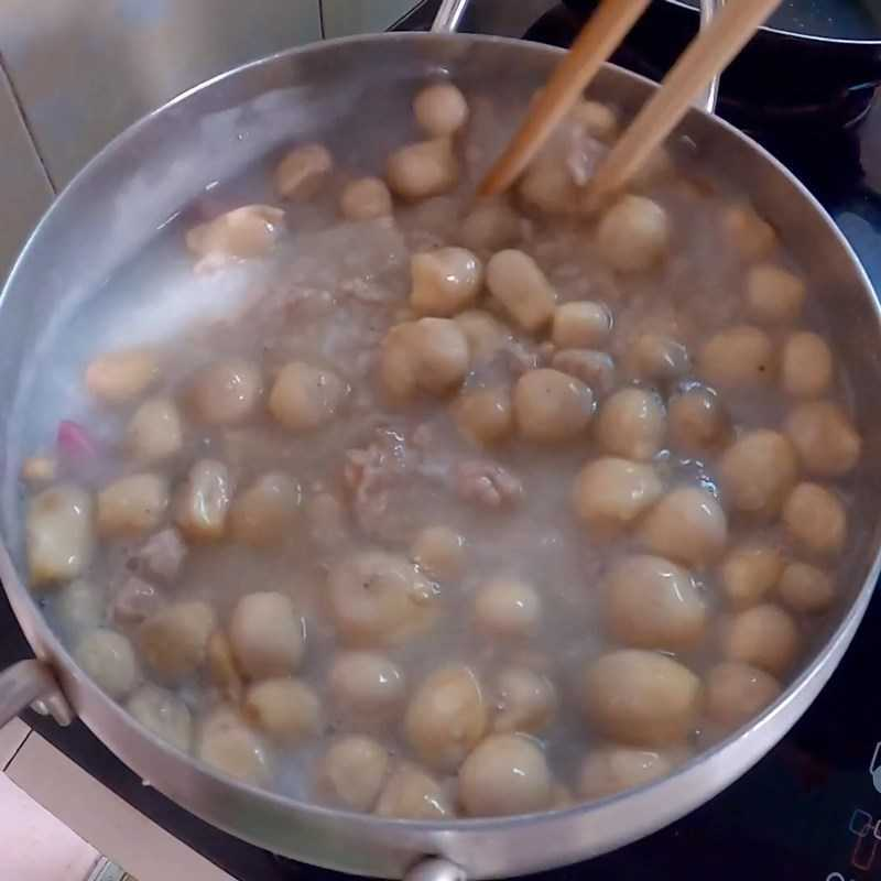 Bước 4 Cháo trứng vịt lộn