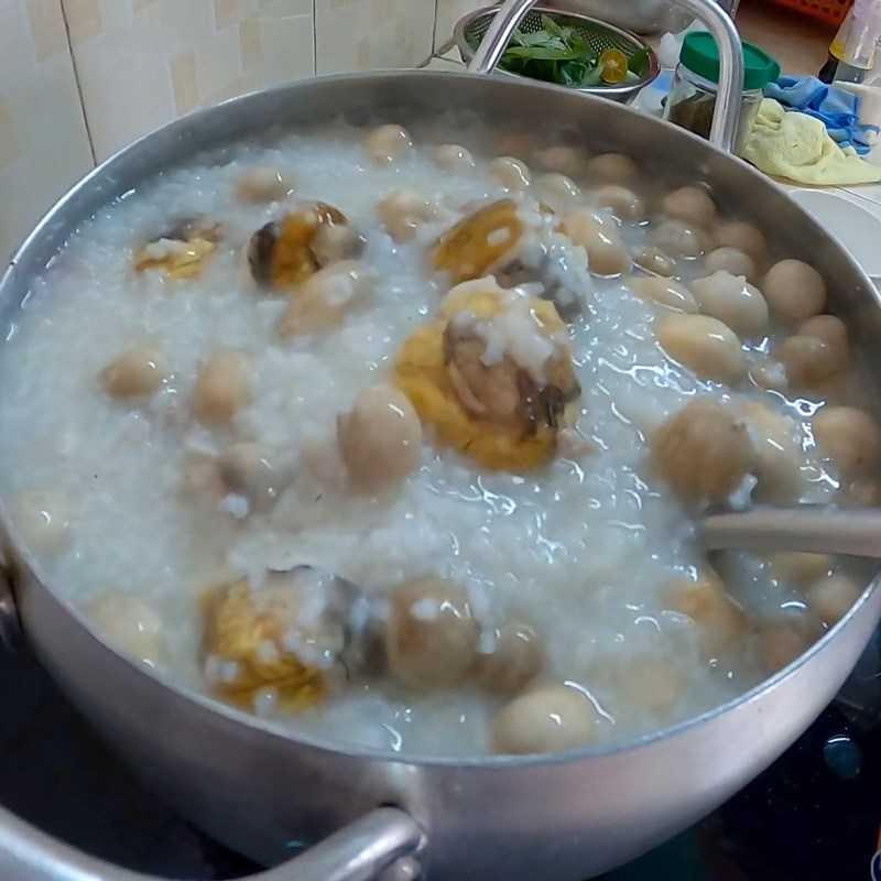Bước 5 Cháo trứng vịt lộn đã hoàn thành