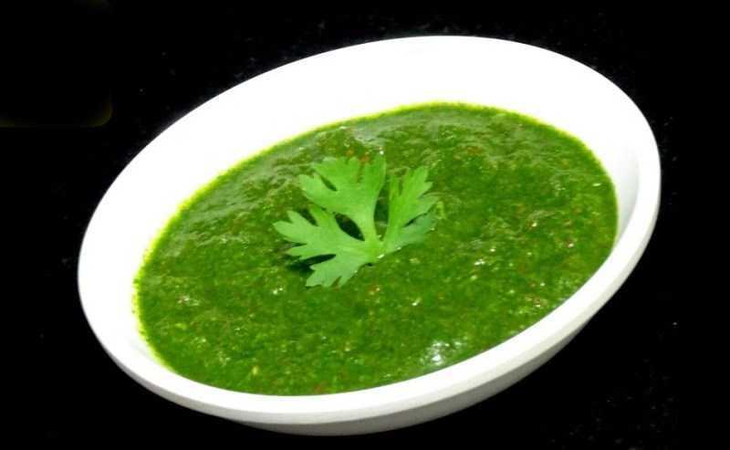 Ngò tương ớt - cilantro chutney