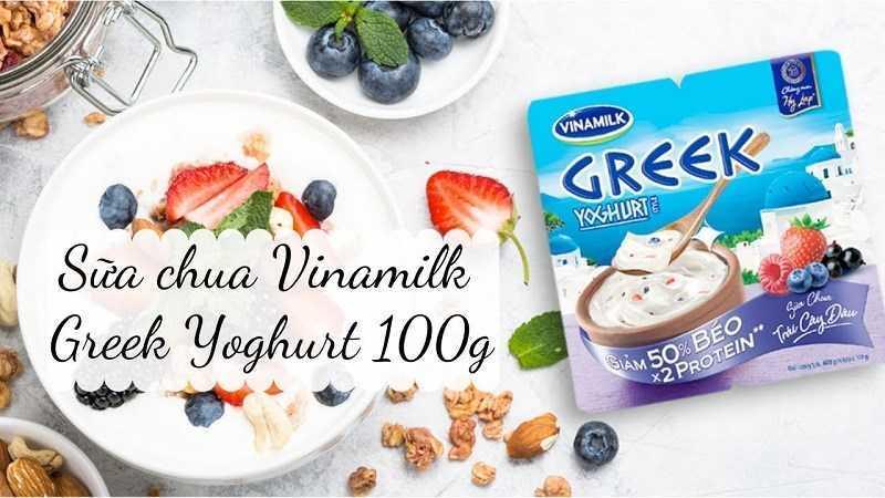 Sữa chua Vinamilk Hy Lạp giá bao nhiêu?