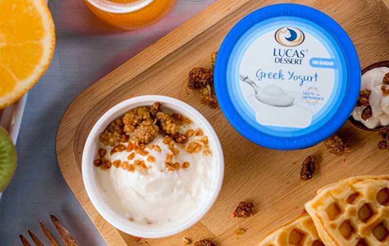 Sữa chua Lucas Greek giá bao nhiêu?