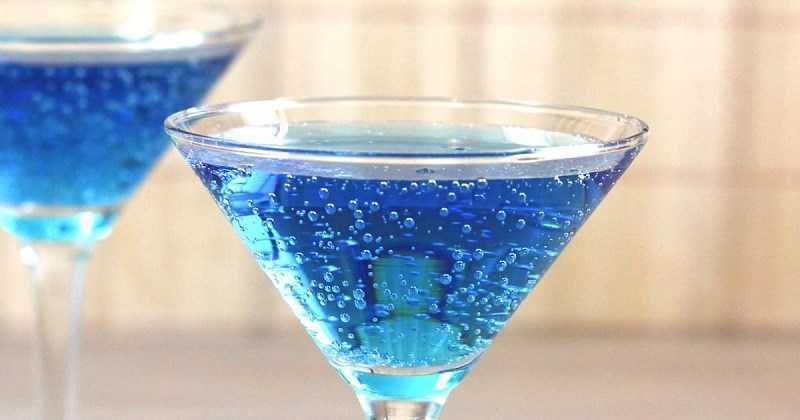 Mocktail đại dương xanh