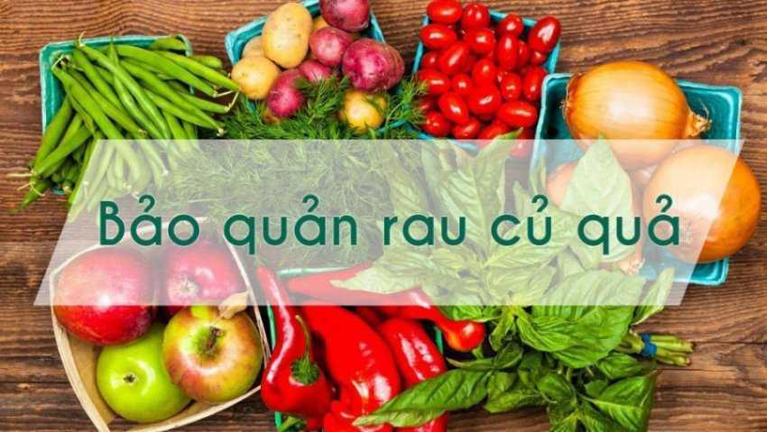 Hạn sử dụng của rau trong tủ lạnh