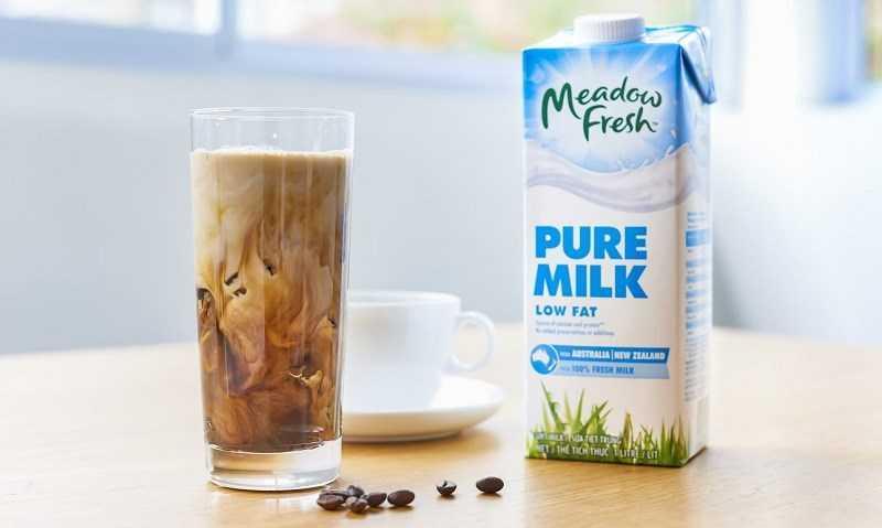 Sữa tách béo chứa 1% chất béo