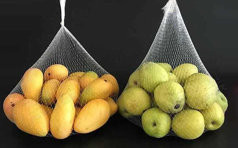 Túi lưới thông thoáng giúp bảo quản trái cây tốt hơn
