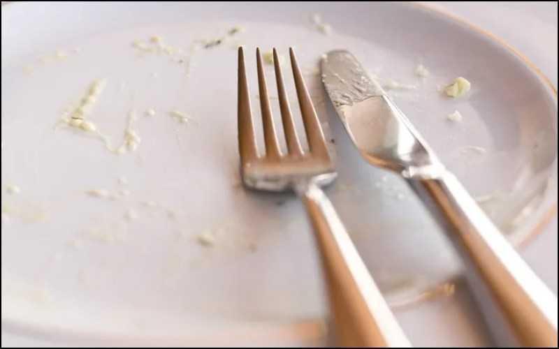 Không để lại thức ăn thừa