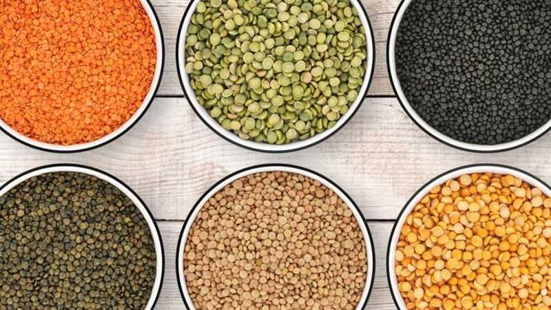 Thành phần dinh dưỡng của đậu lăng