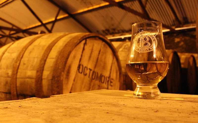 Whisky được sinh ra như