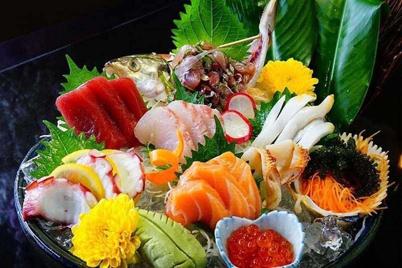 Sashimi ẩm thực Nhật Bản