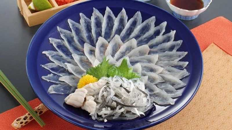 Fugu sashimi (cá nóc)