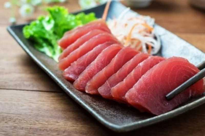 Sashimi cá ngừ (cá ngừ)