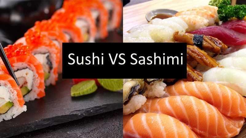 Phân biệt sushi với sashimi