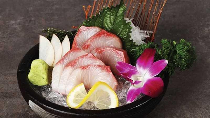 Kapanchi sashimi (cá cam)