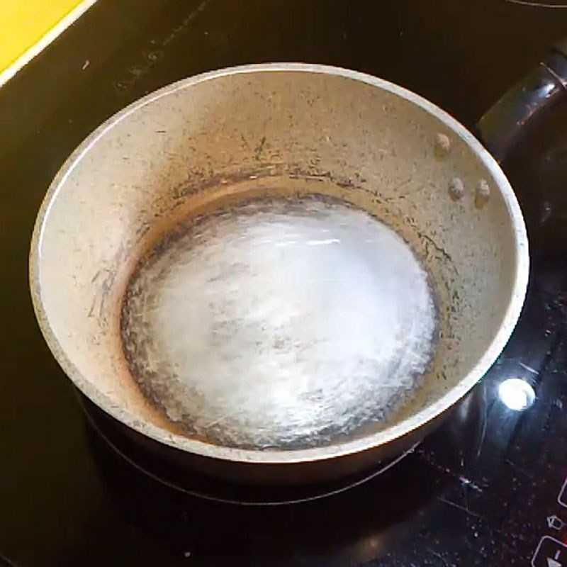 Bước 2 Nấu nước sốt bò bít tết