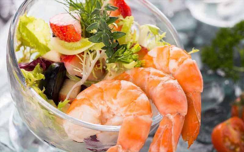 Salad Cocktail Tôm