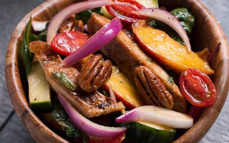 Salad đào