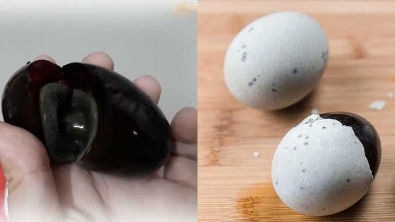 Phân biệt trứng sống ngâm hóa chất với trứng an toàn