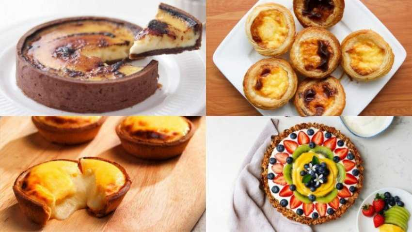 8 cách làm bánh tart