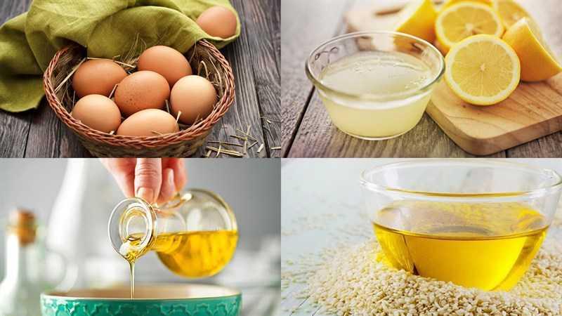 Nguyên liệu cho món sốt dầu trứng